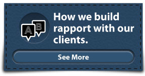 How we build rapport with our clients. | See More